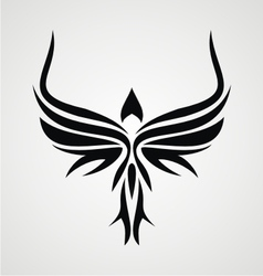 Tribal Bird vector image