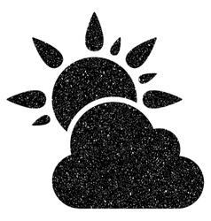 Weather Grainy Texture Icon vector