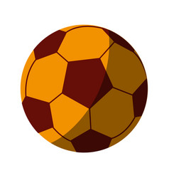 soccer ball icon image vector image