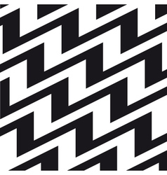 chevron background black white vector image vector image