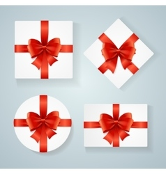 Boxes Present Blank Card vector image vector image