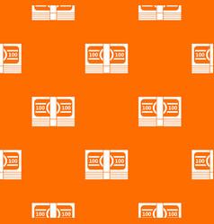 bundle of money pattern seamless vector image