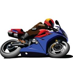 Motorbike racing motorsports vector