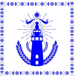 Typical Dutch tile vector image