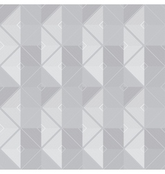retro geometric gray seamless pattern vector image
