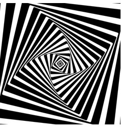 a black and white optical vasarely vector image