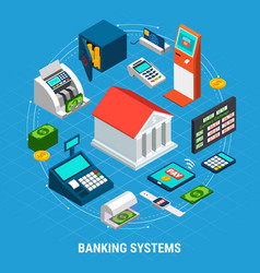 Banking systems round composition vector