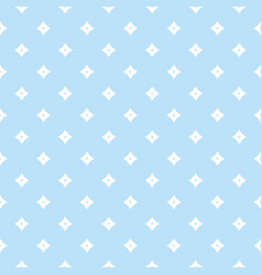 blue geometric seamless pattern with small vector image