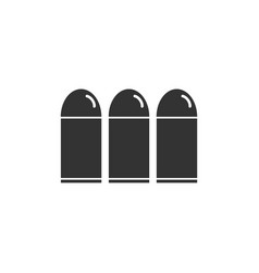 bullets icon flat vector image