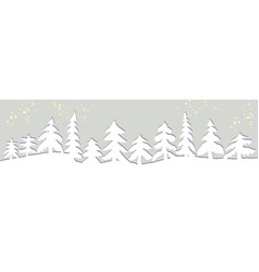 design web winter vector image
