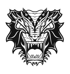 dragon 7 vector image