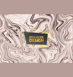 Marble beige textute tile liquid pattern vector
