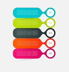 Minimal infographics design can be used for vector image
