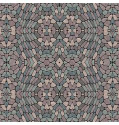 Pebble mosaic vector