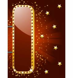 theatre sign vector image