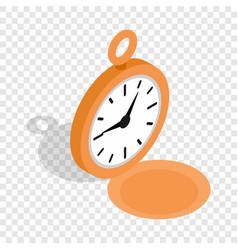 watch isometric icon vector image