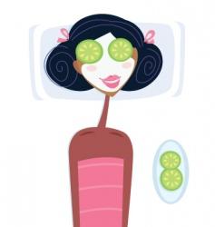 health spa vector image vector image