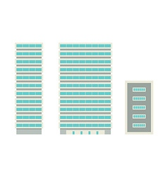 High-Rise Building - Template for Creation vector image