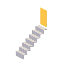 A view of stair vector