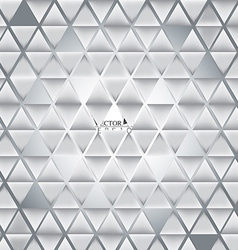 Abstract 3D triangle background patterns vector image