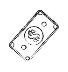 Billet money symbol vector