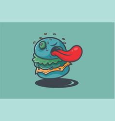 burgerkill vector image