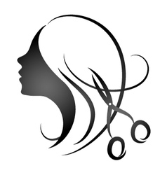 Design for womens hairdressing salon vector image