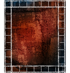 grungy background with frames vector image
