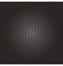 metal holes background vector image