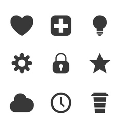 packs icons User interface for mobile devices and vector image