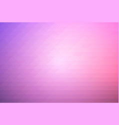 Purple blue pink rows of triangles background vector