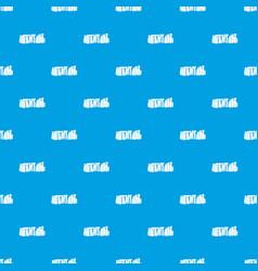 stonehenge pattern seamless blue vector image