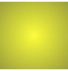 Yellow Mosaic Tile Honeycomb Background vector image