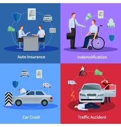 Auto Insurance Concept vector image