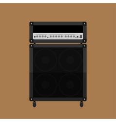 Guitar amplifier 2 vector image