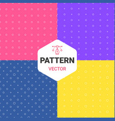 Colorful pattern of multiples dots vector