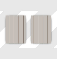 flyer brochure design template cover business vector image