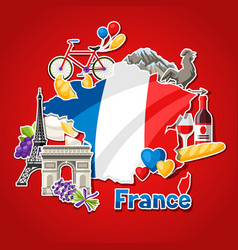 France background design vector