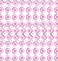 Heart shape love valentines day seamless pattern vector