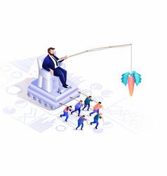 Hidden crowd management vector
