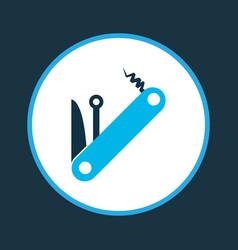 multitool icon colored symbol premium quality vector image