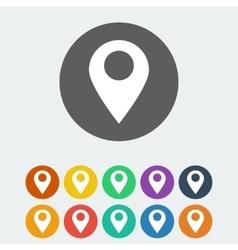 Navigation icon vector