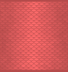 seamless scale pattern abstract roof tiles vector image