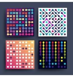 Trendy music dj minimalistic 2d graphic vector