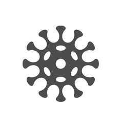Virus icon vector