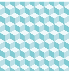 cube 3d pattern background vector image vector image