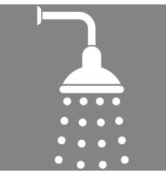 Shower Flat Symbol vector image vector image