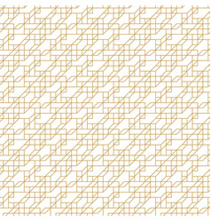abstract geometric seamless pattern with lines and vector image
