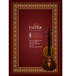 al 0507 cover violin vector image