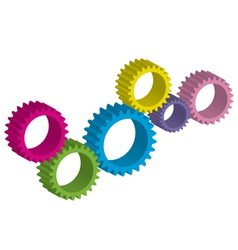 Cog-wheel vector